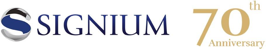 Logotipo Signium 70 aniversario haed hunter cazatalentoss